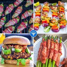 Happy #LaborDay to those in the US and Canada! 🙌 Hope you're enjoying the holiday w/ friends & family. Here are 4 of my favorite and easy recipes to throw on the grill! 1) Black bean burger; 2) Shrimp & avocado kabobs; 3) Turkey Jalapeño poppers; 4) turkey wrapped asparagus. Go to FitMenCook.com to get these recipes or use the #FitMenCookApp to customize more ideas! And if you don't feel like cooking out, crash someone else's party! Boom. (traduccion abajo) REMEMBER to update your…
