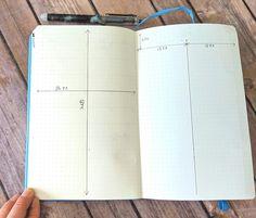 バレットジャーナルA5ドット方眼の基本 I Words List, Bullet Journal Easy, Book Layout, My Works, Templates, Bujo, Business, Education, Life