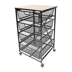 Welcome stylish versatility to your kitchen with the multifunctional Origami Cart from Flash Furniture. Made from durable rubberwood, this unique rolling kitchen cart opens and folds in seconds and can be used as a kitchen island or a side cart. Rolling Kitchen Cart, Art Studio Design, Scrapbook Storage, Coastal Bedrooms, Selling Furniture, Home Gadgets, Craft Storage, Storage Ideas, Decorating On A Budget