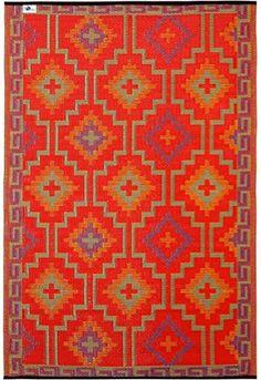kunststoffteppich lhasa orange violett einrichtung teppiche und b den pinterest. Black Bedroom Furniture Sets. Home Design Ideas