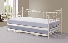 Memphis 3ft Single Day Bed with Trundle - Ivory or Black (Ivory) Right Deals UK http://www.amazon.co.uk/dp/B00EXQYCDS/ref=cm_sw_r_pi_dp_YHxovb10JZF9H