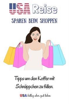Spare beim Einkaufen im Urlaub