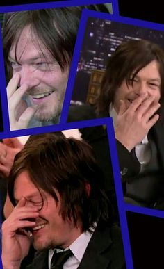 Embarrassed Reedus is one of the best Reeduses