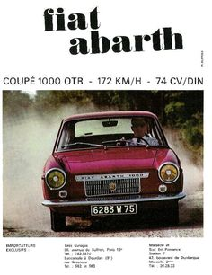 Fiat Abarth OTR 1000 Coupé