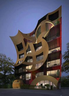 Orbis apartments in Melbourne, Australia, by Visionary Arts