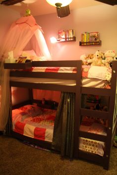 Bunk Beds for a Small Room | Do It Yourself Home Projects from Ana White