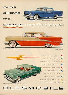 Vintage Oldsmobile Ad #ThrowbackThursday #AutoAdvertising