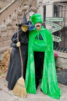 Brooklyn Limestone: Halloween Ill get you my pretties. The Wizard Of Oz Costumes, Wizard Costume, Hallowen Costume, Scary Costumes, Family Costumes, Couple Halloween Costumes, Costume Ideas, Wizard Oz, Devil Costume