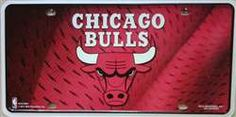 LP-1046 Chicago Bulls NBA License Plate – Preegle.com