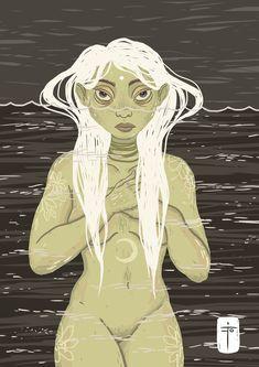 Nereid - nymph of calm seas _ 𝗜𝗻𝘀𝘁𝗮𝗴𝗿𝗮𝗺: 𝗺𝗮𝗱𝗮𝗹𝗶𝗻𝗮𝗳𝗶𝗶𝘃𝗲 Nymph, Seas, My Arts, Princess Zelda, Calm, Photo And Video, Artist, Anime, Fictional Characters