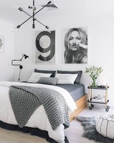Bedroom goals ✔️ via @sassandspice  #inspiration #interiordesign #interior #homedesign #homedecor #home #decoration #decor #bestoftheday #love #instadaily #instagood #instamood #bed #bedroomdecor #bedroomdesign #bedroomgoals #bedroom #bedroomideas #scandinaviandesign