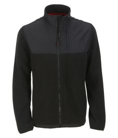 A87 Full-Zip Fleece Jacket - Aeropostale all black size small (yes i realize this is in the boys section)