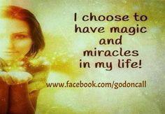 """Choose Miracles! - """""""