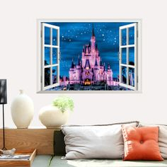 Home & Garden Realistic Zooyoo Girl Reading Books Wall Sticker Home Decor Reading Room Library Art Wall Decals Waterproof Girls Room Wallpaper Murals Fashionable And Attractive Packages