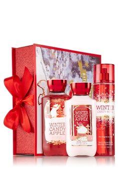 Winter Candy Apple Sparkle Amp Shine Gift Set Signature