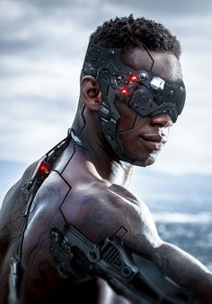 This relates back to race as technology as it shows how the future is a system in place that will influence the race and redefine what it meant be human by being a cyborg Cyberpunk 2077, Cyberpunk Kunst, Arte Alien, Arte Robot, Nono Le Petit Robot, Nail Bat, Cyberpunk Aesthetic, Robot Concept Art, Futuristic Art