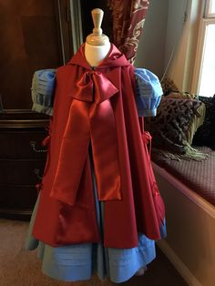 Red Child's Cape, Into the Woods Costume, Inspired, Little Red Riding Hood Cape, Child's Cape, Girl's Cape by SaintJamesCouture on Etsy https://www.etsy.com/listing/263605047/red-childs-cape-into-the-woods-costume