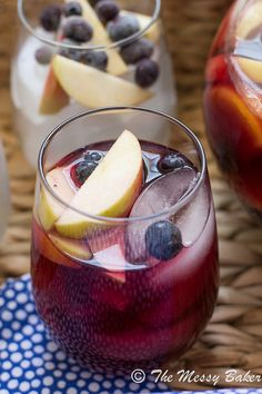 Wicked Blueberry Pomegranate Sangria | www.themessybakerblog.com-8823 by jenniephaneuf, via Flickr