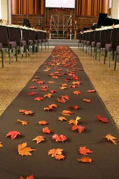 Leaves instead of petals... genius! (and affordable)