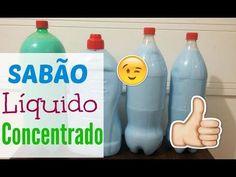 SABÃO LÍQUIDO CASEIRO CONCENTRADO SEM ÁGUA QUENTE| GASTANDO POUCO - YouTube