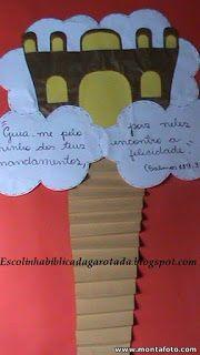 O Céu Board Decoration, Bible Crafts, Sunday School, Ideas Para, Education, Blog, Kids, Good Ideas, Diy Creative Ideas