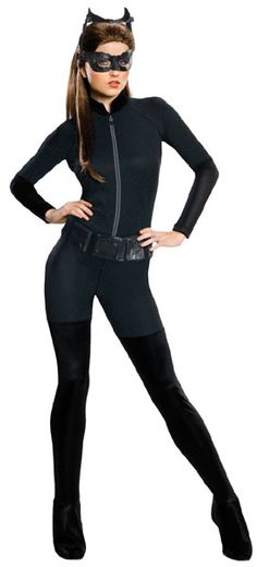 Catwoman Costume, Comes with Jumpsuit, Mask and Belt. #FancyDress #Costume #Superhero #Licensed #Official #Halloween #Catwoman