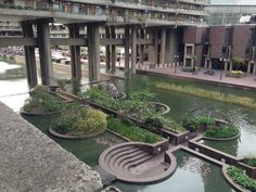"""See 34 photos and 7 tips from 563 visitors to Barbican Highwalk. """"Take a guided architecture tour of the Barbican Centre, from the remains of the. Barbican, Greater London, Brutalist, Art And Architecture, Landscape Design, Places To Visit, Tours, Island, Spaces"""