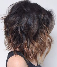 35 Short Ombre Hair Color Ideas for Brunettes That Are Trending for 2019 - Latest Hair Colors