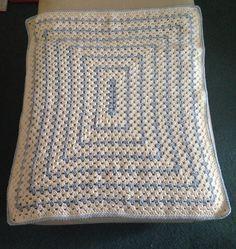 Beautiful handmade crochet baby blanket £20.00