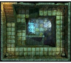 Hall of Fallen Angel - Stairs_N3