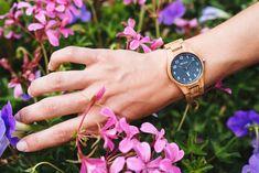 """Model hodiniek Olaf od Waidzeit predstavuje nezameniteľný dizajn s názvom """"čistá príroda"""". Olaf, Wood Watch, Watches, Accessories, Fashion, Wooden Clock, Moda, Wristwatches, Fashion Styles"""