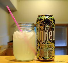Inked Lemonade Energy Drink
