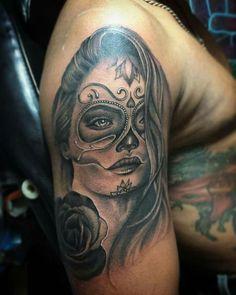 #tattooart #blackandgray #catrina #sirak