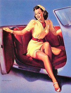 TITLE: Sports Model  DATE: 1943    http://www.thepinupfiles.com/elvgren/ELVGREN_img_100.jpg