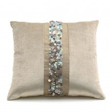 Horn buckle silk Square Pillow