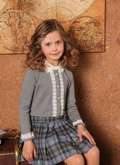 School Uniform Fashion, School Uniform Girls, School Uniforms, Little Fashion, Kids Fashion, Fashion Outfits, Little Girl Dresses, Girls Dresses, Kids Dress Wear