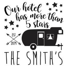 Camping Our hotel has 5 stars Vinyl Decal Your choice of color Free Sh – Colorflossdecals camperlife Suv Camping, Caddy Camping, Camping Organization, Camping Packing, Camping Outfits, Trailer Organization, Camping Fashion, Camping Stuff, Packing Lists