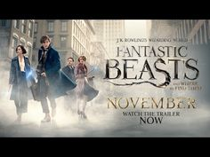 Fantastic Beasts and Where to Find Them - Final Trailer - Jamestown Home Theater Screen