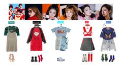 """RED VELVET - DUMB DUMB❤️"" by mabel-2310 on Polyvore featuring Gucci, Marni, FAY, Missoni, Forte Couture, Jennifer Loiselle, Dorothy Perkins, Comme des Garçons, Topshop and Shashi"