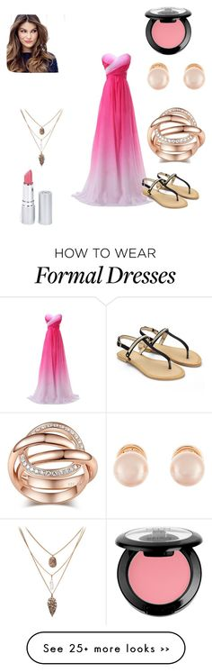 """Untitled #107"" by dino-islamovic on Polyvore featuring Kenneth Jay Lane, ULTA, NYX and HoneyBee Gardens"