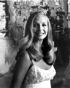 Miss America 1974 - Rebecca King (CO) about the same year my goal in life was to become Miss America.