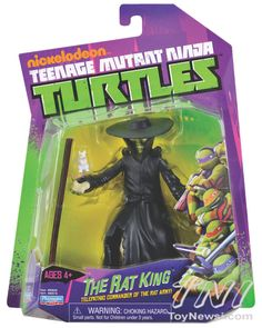 New Nickelodeon TMNT Figures Hitting In July Plus A Cool Figure Stop-Motion Video - TMNT - Action Figures Toys News ToyNewsI.com