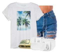 """""""7/21"""" by trillgolddfashionn ❤ liked on Polyvore featuring NIKE"""