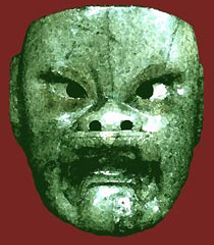Olmec Leaders | Carved stone slabs depict mutilated captives at Monte Albán; the ...