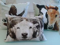 Pillows. Icelandic design.