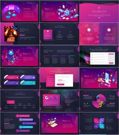 Red Web Design PowerPoint templates - The most creative designs Powerpoint Examples, Powerpoint Tutorial, Powerpoint Design Templates, Keynote Template, Booklet Design, Flyer Template, Keynote Design, Brochure Design, Design Layouts
