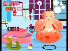 Cute baby bathing game , nice game for kids , super game for childrens ,...