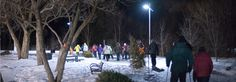 Vivez une expérience hors de l'ordinaire avec la raquette à la pleine lune au parc du Grand-Coteau de Mascouche le 5 janvier 2015 à 19 h.