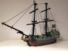 69 Lego Old Ships Ideas – How to build it Lego Pirate Ship, Lego Ship, Lego Age, Lego Boat, Pirate Boats, Big Sea, Lego Builder, Lego Castle, Lego Worlds