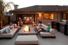 Contemporary Patio, Folding Doors, Santa Cruz, Outdoor Spaces, Outdoor Furniture Sets, Accordion Doors, Outdoor Rooms, Modern Patio